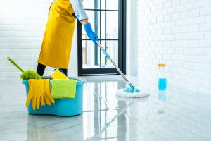 تنظيف المنازل و الشقق